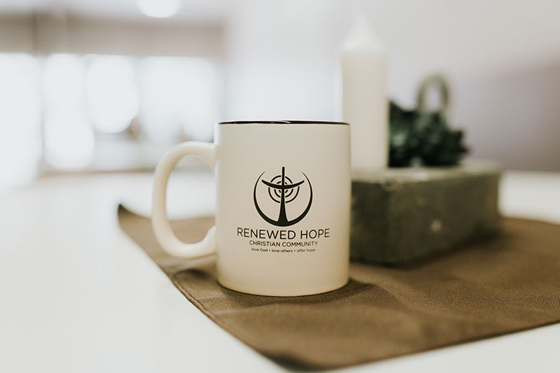 Renewed Hope Coffee Cup